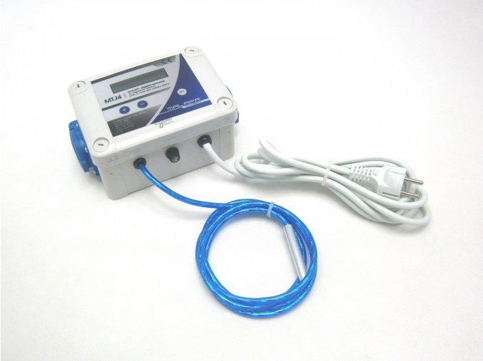 Digitální dvojitý termostat s 2x regulací výkonu(min/max)