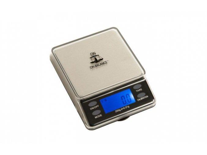 Váha MINI TABLE TOP scale 200g/0,01g černá