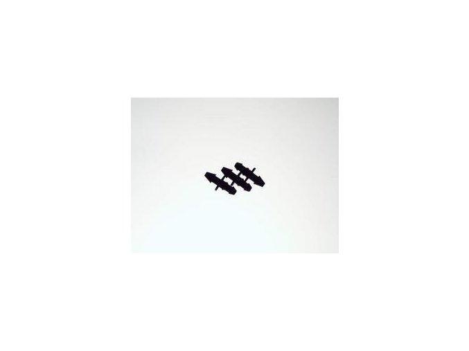 Adaptor - black - spoj kapilára/hadice