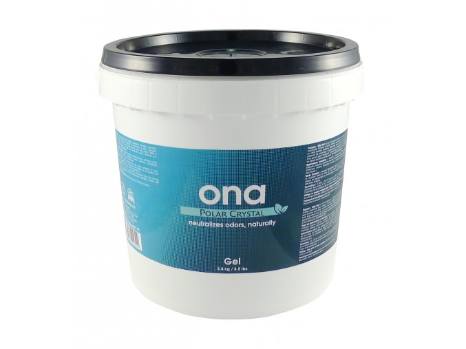 ONA Gel, pohlcovač zápachu - POLAR CRYSTAL 4l -plastový kýbl