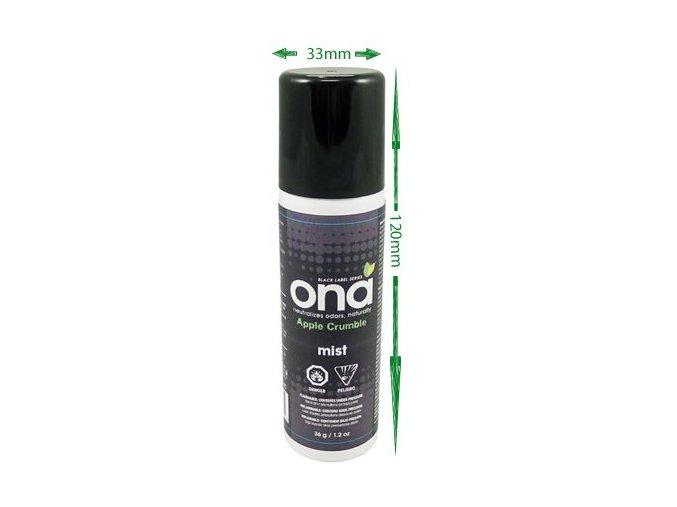 Osvežovač vzduchu - sprej ONA MINI 36g Apple Crumble
