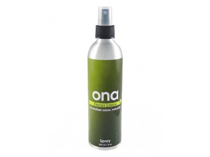 Osvěžovač vzduchu - sprej ONA Fresh Linen 250ml