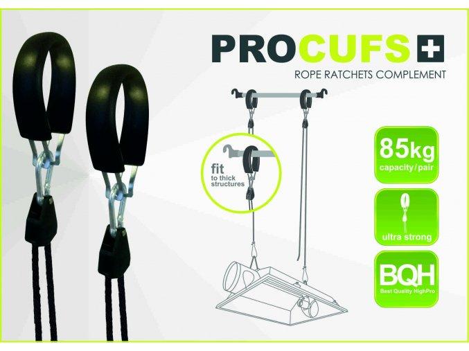 PROCUF, plastový držák na závěsné systémy