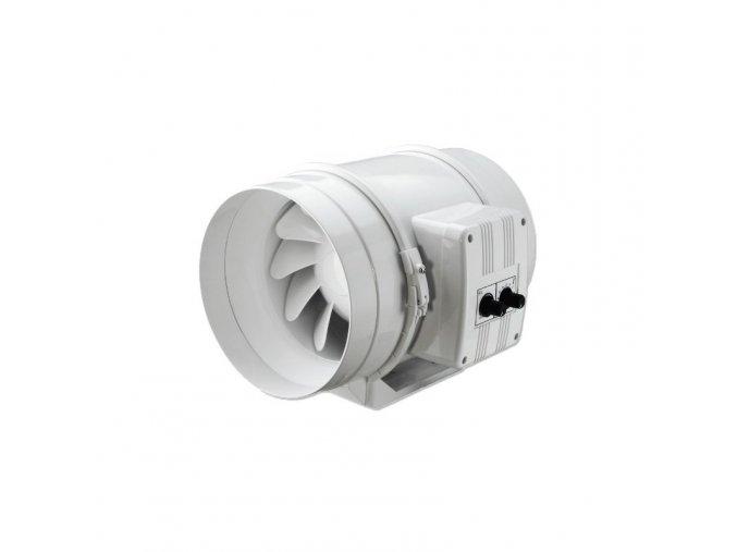 Ventilátor TT 100 U s termostatem, 145/187m3/h