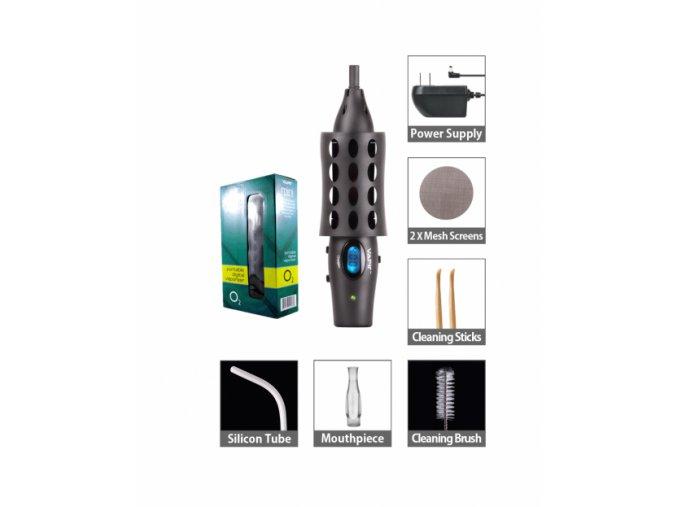 Vaporizér Vapir Oxygen Mini, komplet s připojením do zásuvky, bez baterie