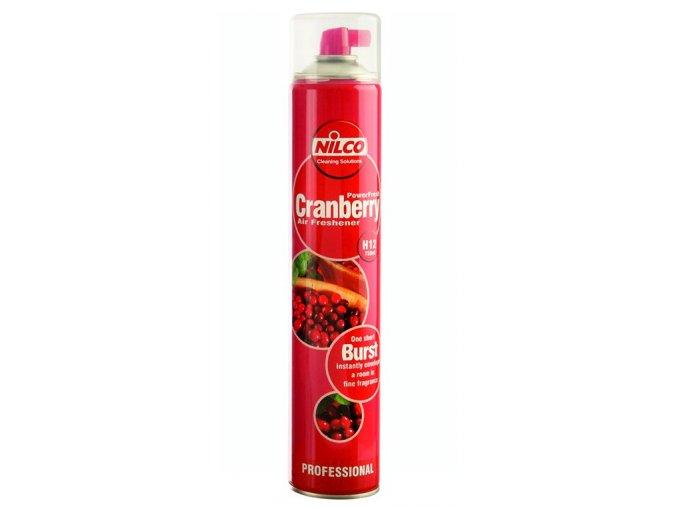 Osvěžovač vzduchu Nilco Powerfresh Cranberry, sprej 750 ml
