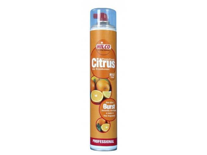 Osvěžovač vzduchu Nilco Powerfresh Citrus, sprej 750 ml