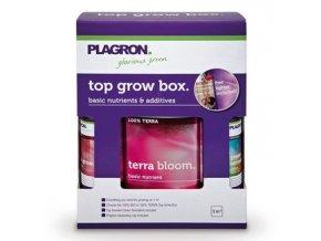 PLAGRON Top Grow Box Terra, sada hnojiv a doplňků
