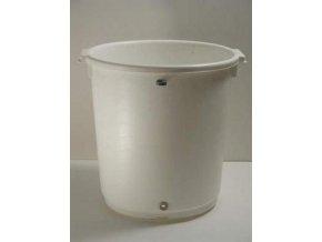 Bílý kyblík pro aquasystem - objem 14l