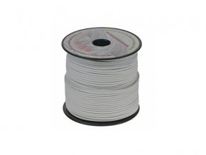 Kabel 3G 1,5mm bílá barva - 1m
