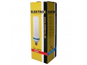 Úsporná lampa ELEKTROX 200 W,2700K, květové spektrum, s integrovaným předřadníkem
