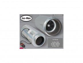 Odhlučněný ventilátor RUCK/CAN ISO-MAX, 430m3/h, příruba 160mm, 3 rychlosti