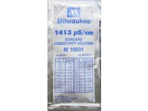 Kalibrovací roztok Milwaukee  1,413 EC - 20ml/box 25ks