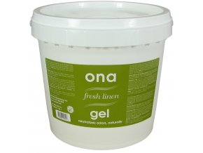 ONA Gel, pohlcovač zápachu - Fresh Linen  4l -plastový kýbl