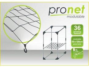PRONET Podpůrná síť, nastavitelná