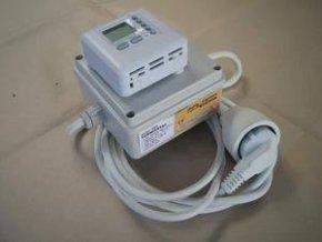Termostat 16A s přepínačem topení-chlazení (komplet)