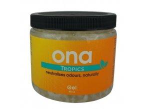 ONA Gel, pohlcovač zápachu - Tropics  1l
