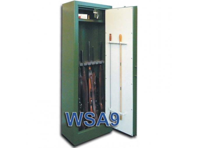 wsa9 zbranova jednoplastova skrin na 9 zbrani