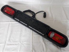 Světelná rampa na nosič zvěře