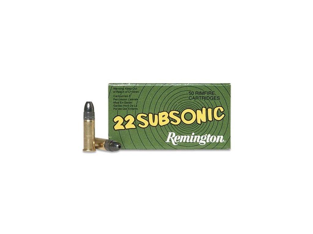 .22lr - Subsonic, Remington