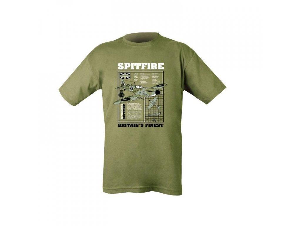 99866 triko spitfire zelene