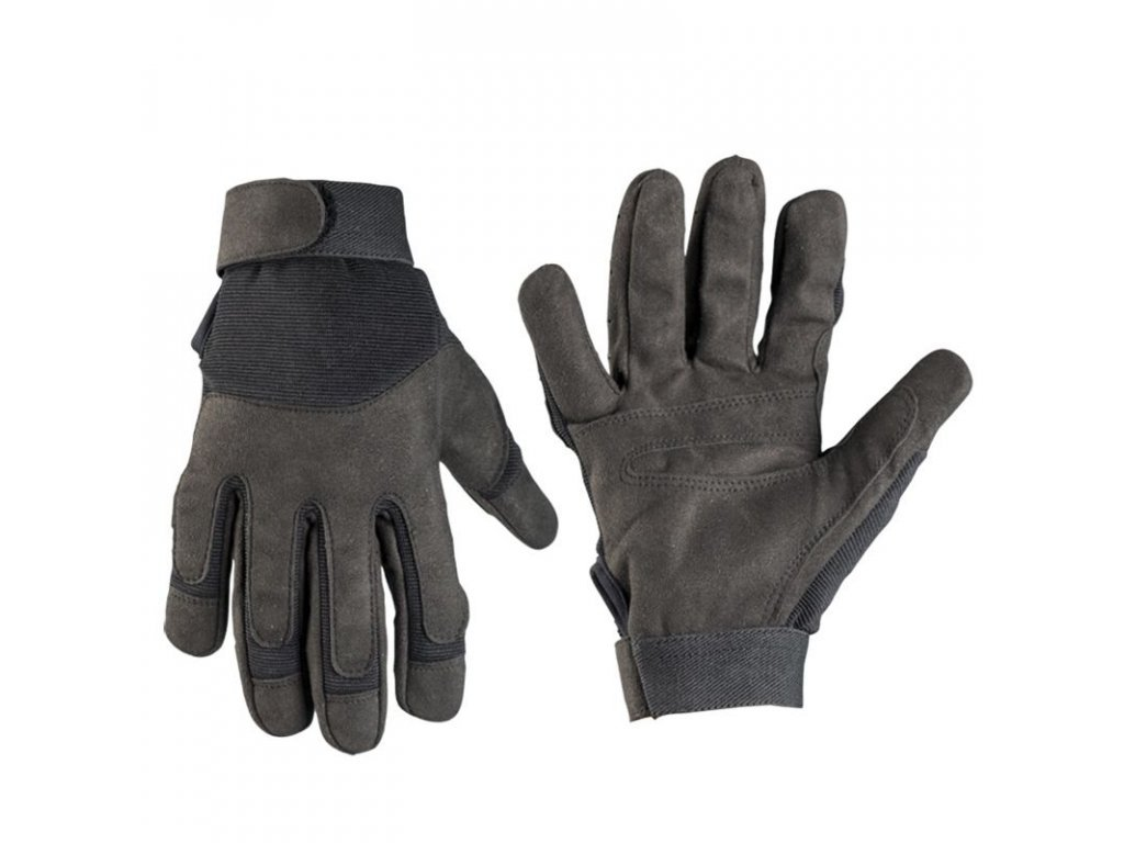 104942 rukavice army cerne vel s akce