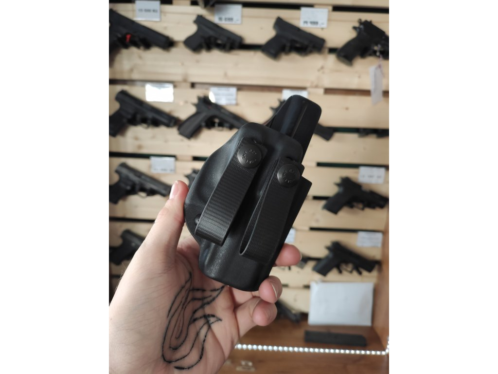 Vnitřní pouzdro - Glock 43x MOS - Černé, Levé, RH Holsters
