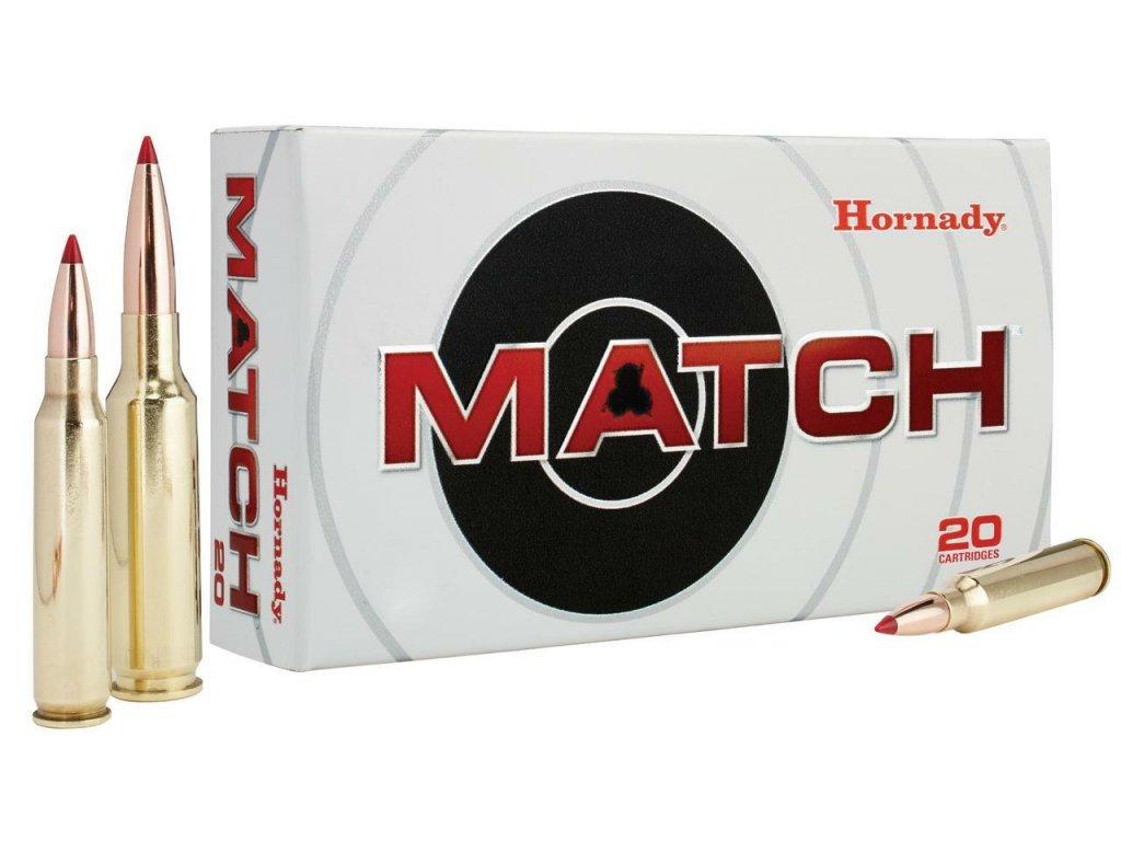 hornady 82298 match 8x57mm js 196 gr boat tail hollow point match 20 bx 10 cs 32256.1552038672