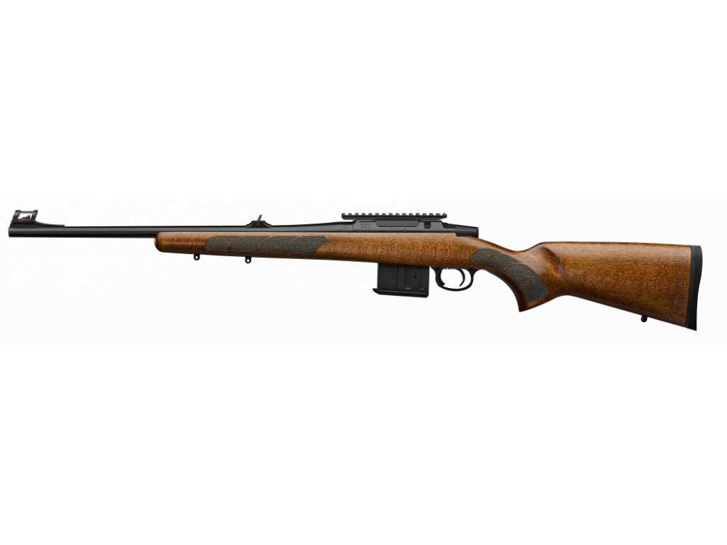 cz 557 range rifle left