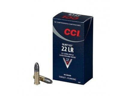 CCI, Quiet Q 22, .22LR, 40GR, LRN