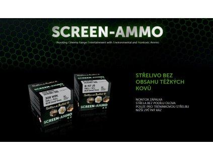 SCREEN-AMMO NOVINKA OD S&B