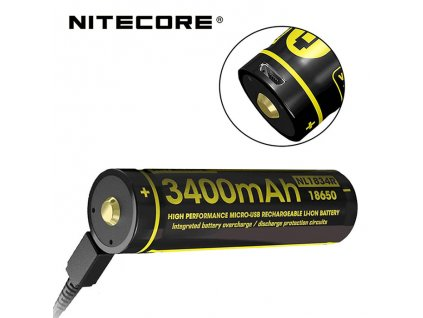 vyr 2173 Nitecore 18650 USB 3400mAh NL1834R (1)