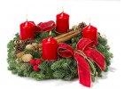 Vánoční svícny