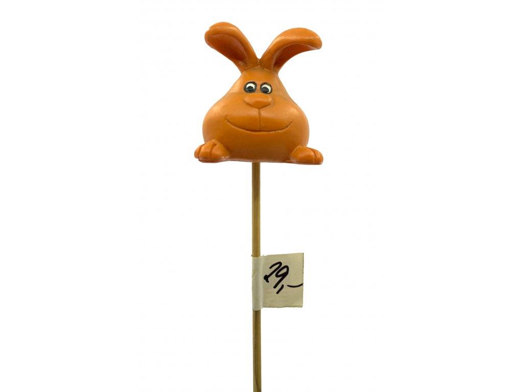 Zápich zajíc - více barev 22,5 cm