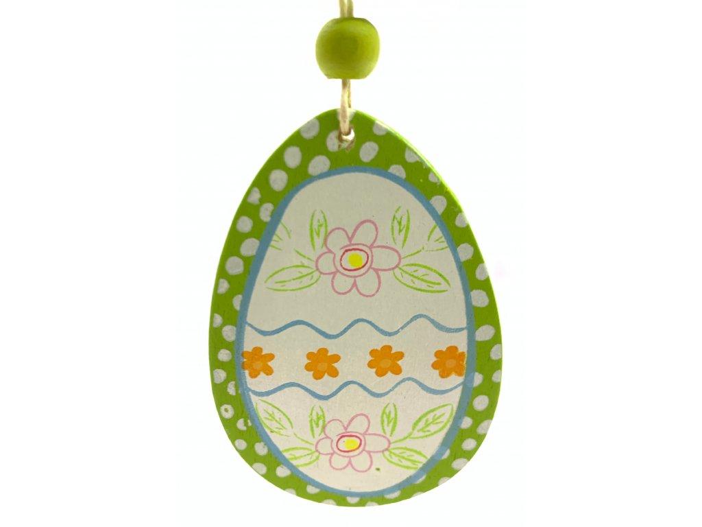 vajíčko zelené 10kč, 4ks