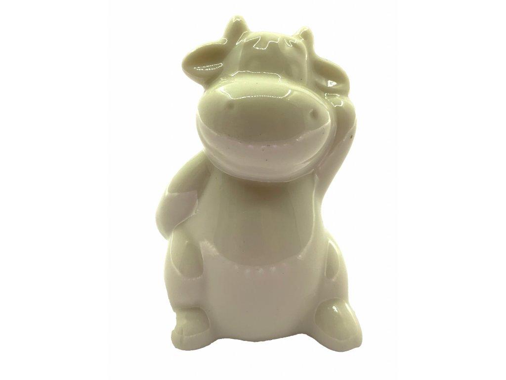 krava porcelan 19kč, 30ks