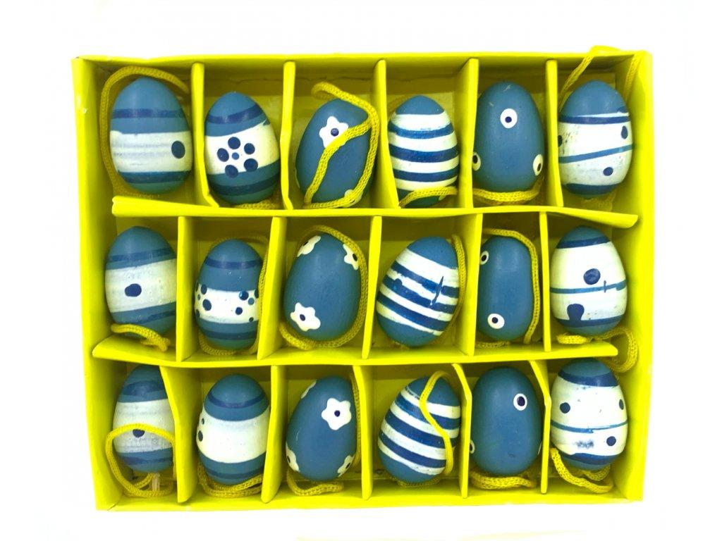 vajíčka sada modrá 39 kč, 11ks
