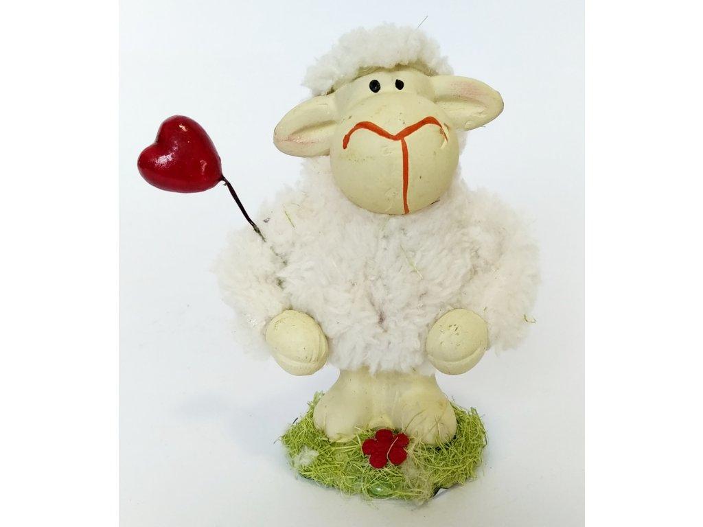 ovce se srdcem