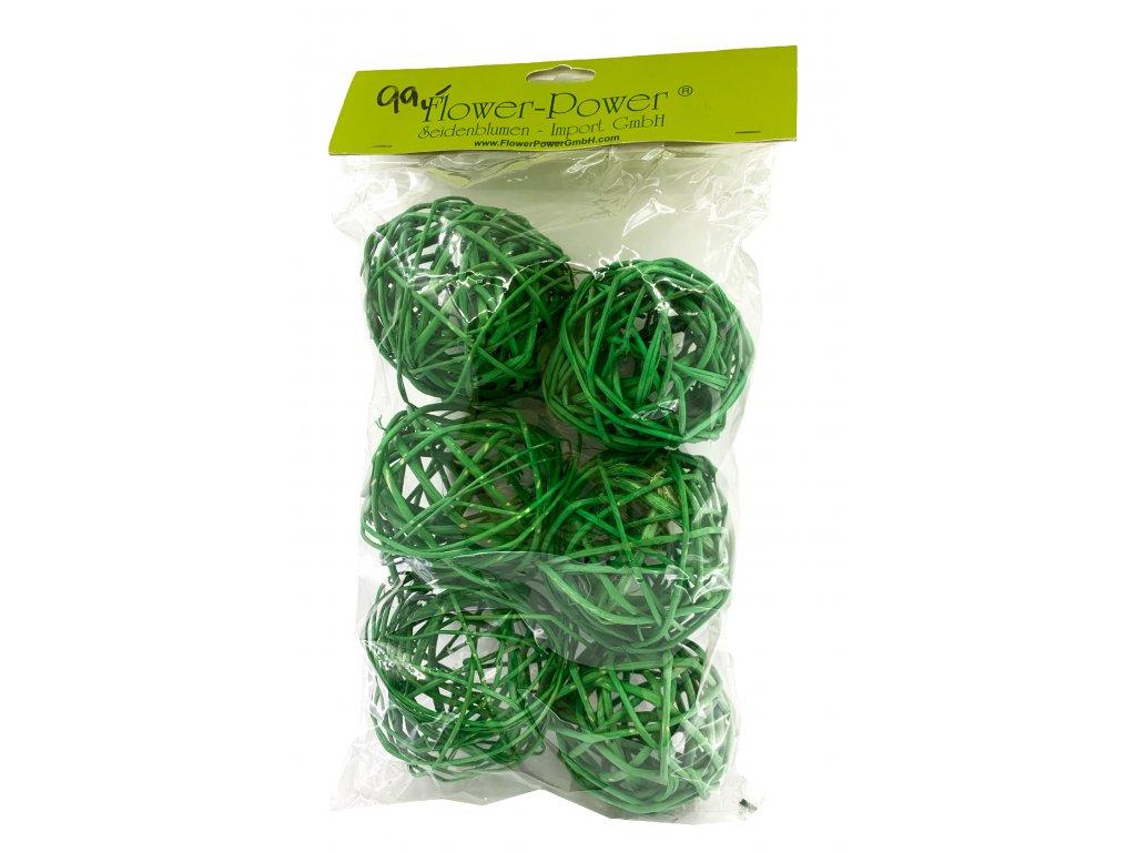 gule zelený