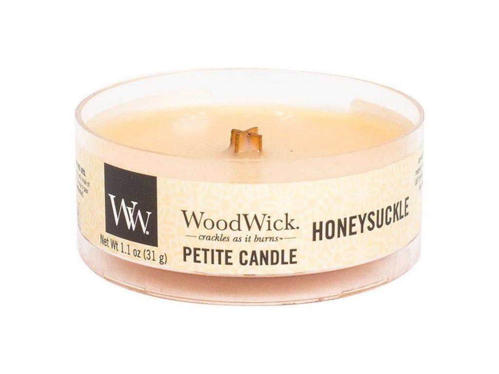 Woodwick Honeysuckle svíčka Petite