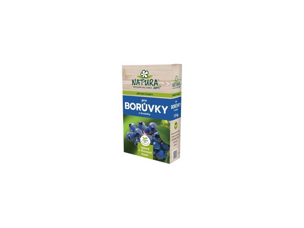 NATURA Přírodní hnojivo pro borůvky a brusinky 1,5 kg