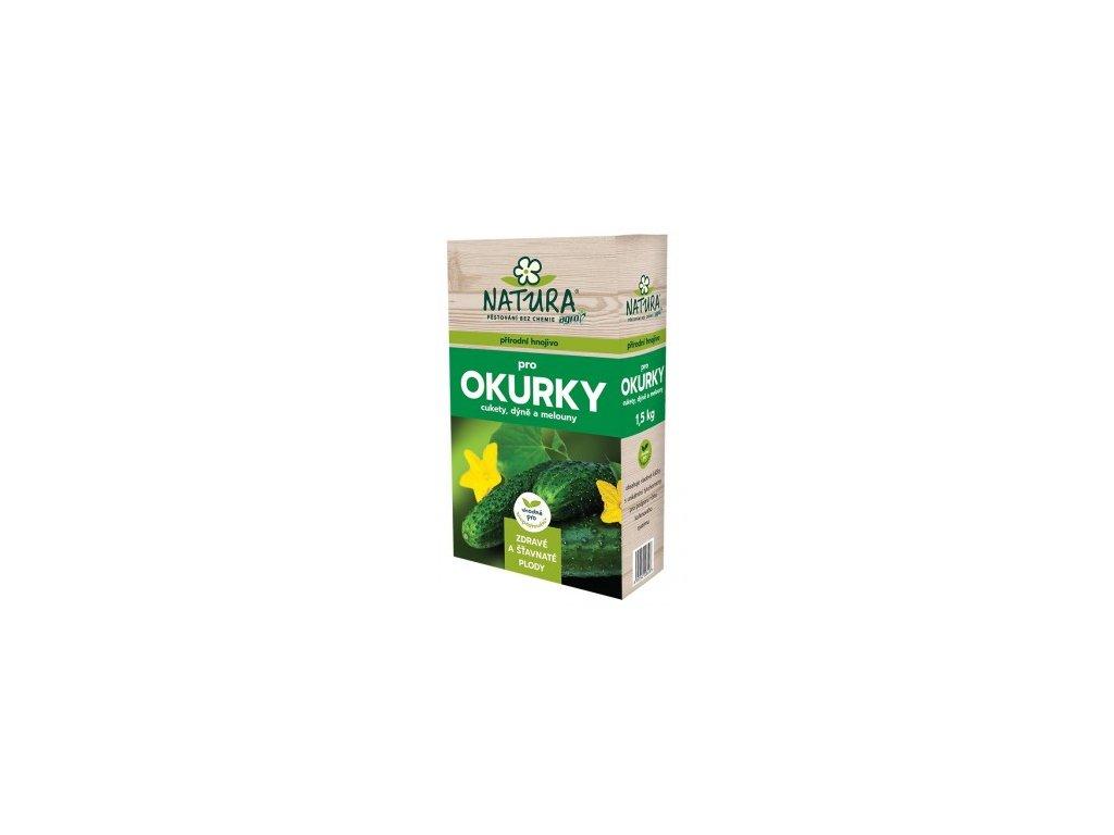 NATURA Přírodní hnojivo pro okurky, cukety a dýně 1,5 kg