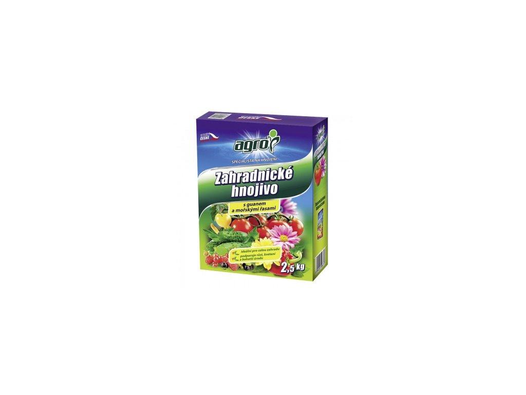 AGRO Zahradnické hnojivo 2,5 kg