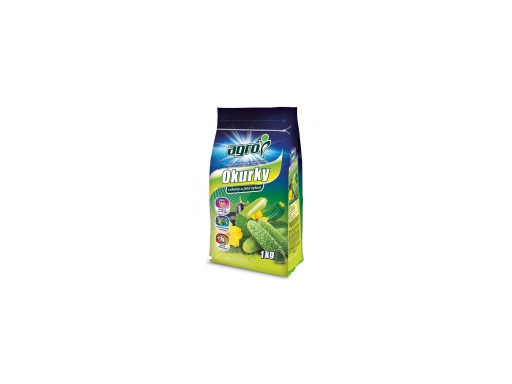 AGRO Organo-minerální hnojivo pro okurky, cukety a jiné tykve 1 kg