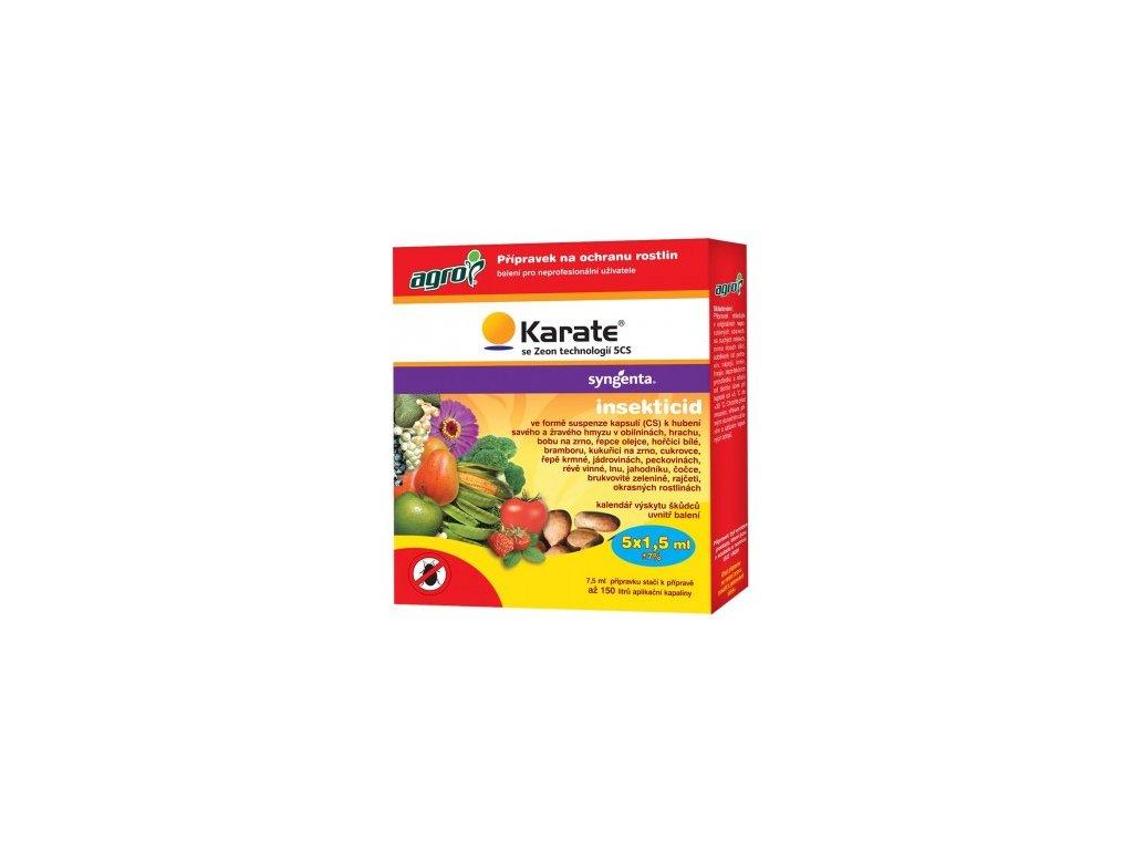 AGRO Karate Zeon technologií 5 CS 5x1,5 ml