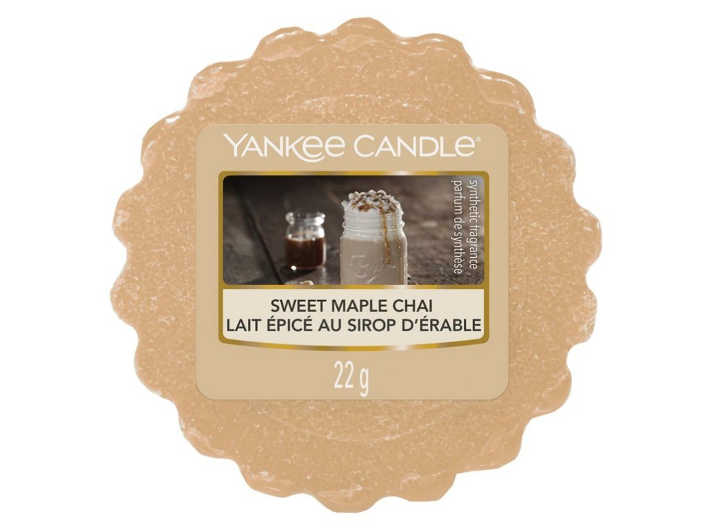 YANKEE CANDLE SWEET MAPLE CHAI VONNÝ VOSK DO AROMALAMPY