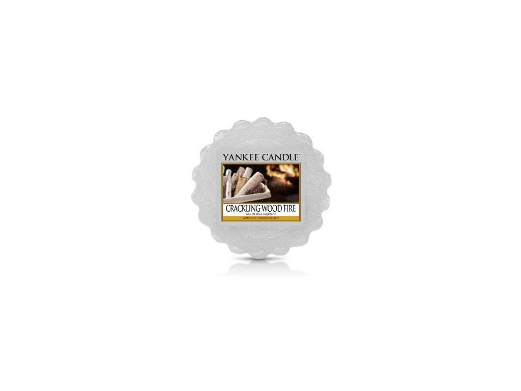 YANKEE CANDLE CRACKLING WOOD FIRE VONNÝ VOSK DO AROMALAMPY