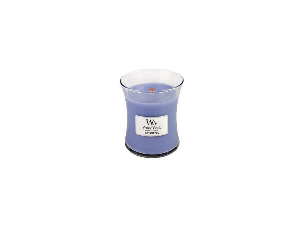 WoodWick Lavender Spa váza střední