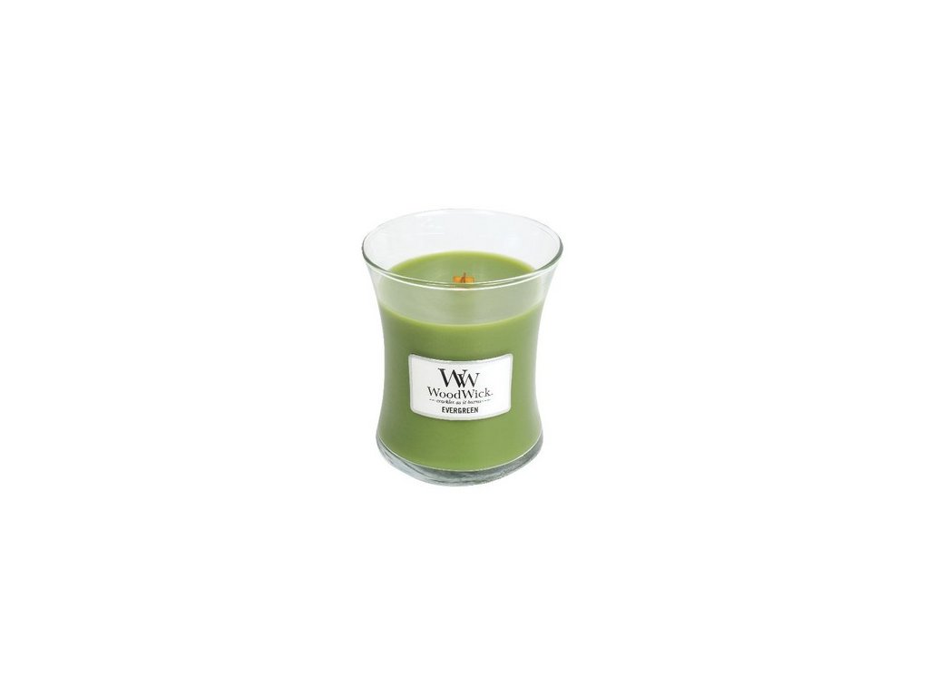 WoodWick Evergreen váza střední