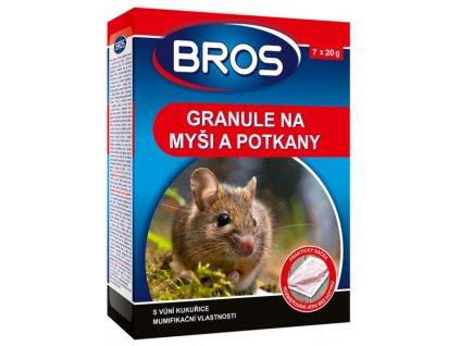 bros granule na myši a potkany
